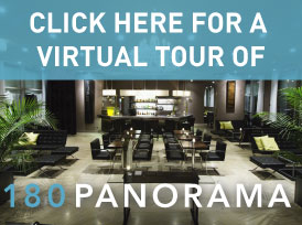 Virtual tour of Panorama Lounge - Toronto best restaurant for toronto's best view, highest restaurant patio, best cocktails, best brunch, most romantic spot, fine dining, best catering, best romantic restaurant, best skyview located at yorkville, downtown toronto voted as best restaurant toronto.